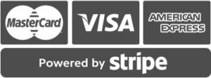 safe and secure transactions powered by stripe