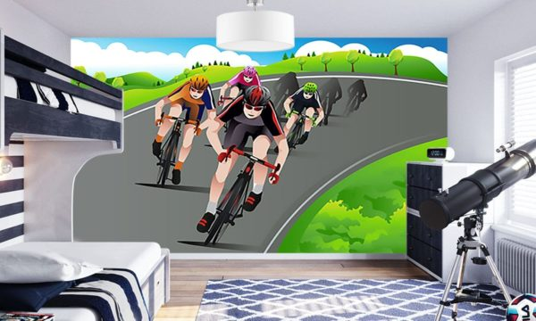 Cycle Race Wallpaper