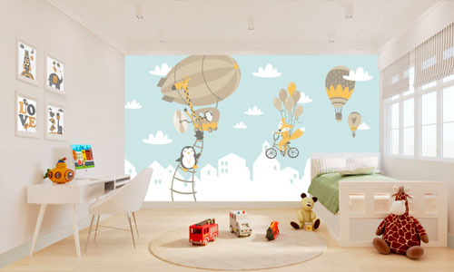 shop by room - childrens bedroom wallpaper murals