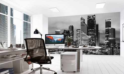 shop by room - office wallpaper murals
