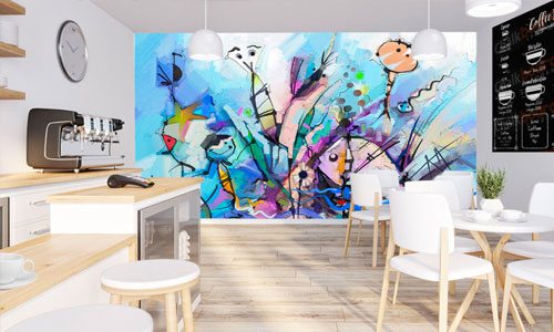 shop by room - work space wallpaper murals