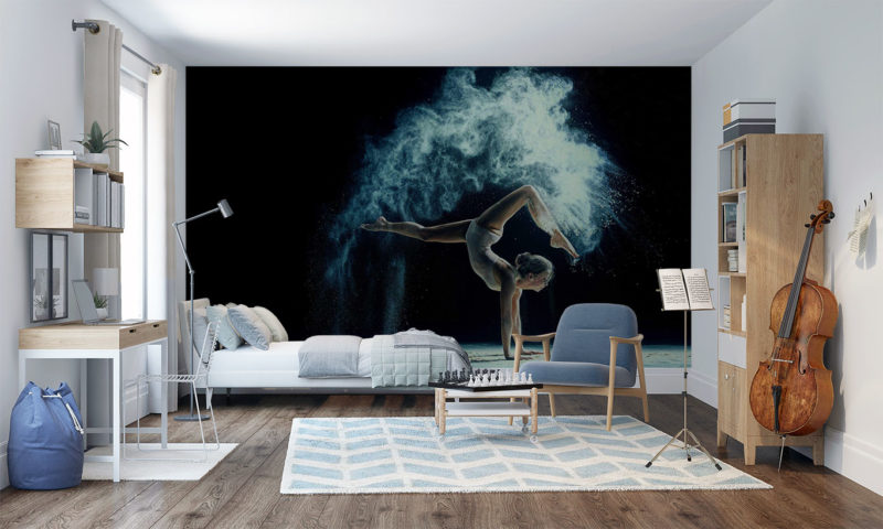 Power And Grace Of A Gymnast wall mural