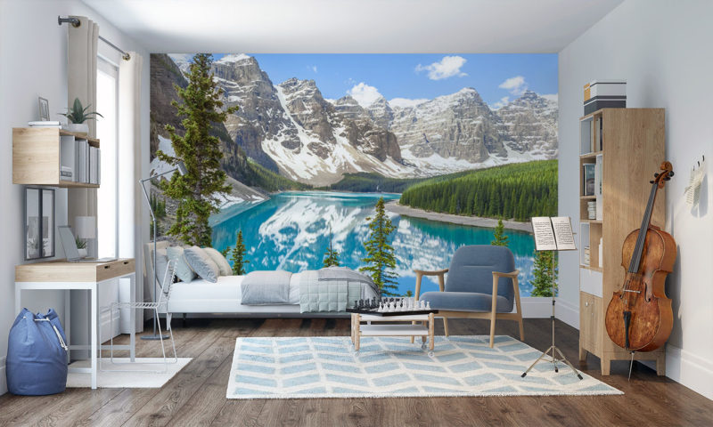 Rocky Mountains Mural