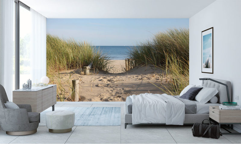 This Way To The Beach Wall Mural Art