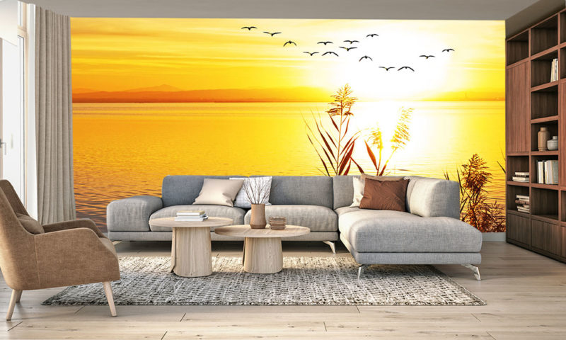Chilled Out Sunset Wall Art