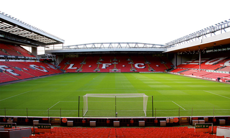 Liverpool FC The Kop Wall Mural