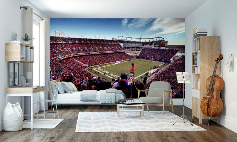 Empower Field at Mile High Wallpaper Mural