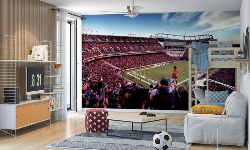 Empower Field at Mile High Mural Wallpaper