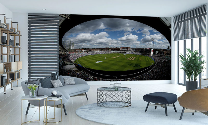 The Oval Cricket Wallpaper Mural