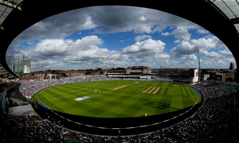 The Oval Cricket Wall Mural