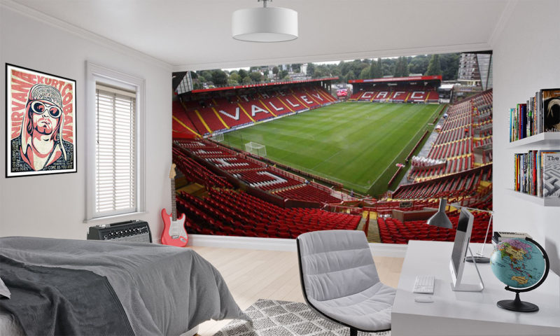 Charlton Athletic FC The Valley Wallpaper Mural