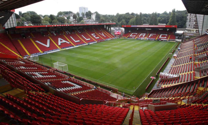 Charlton Athletic FC The Valley Wall Mural