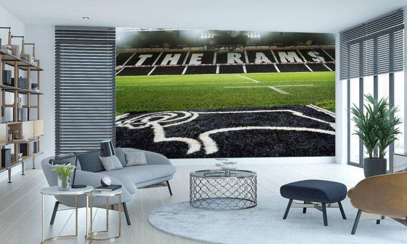 Derby County FC Pride Park Stadium Wall Mural