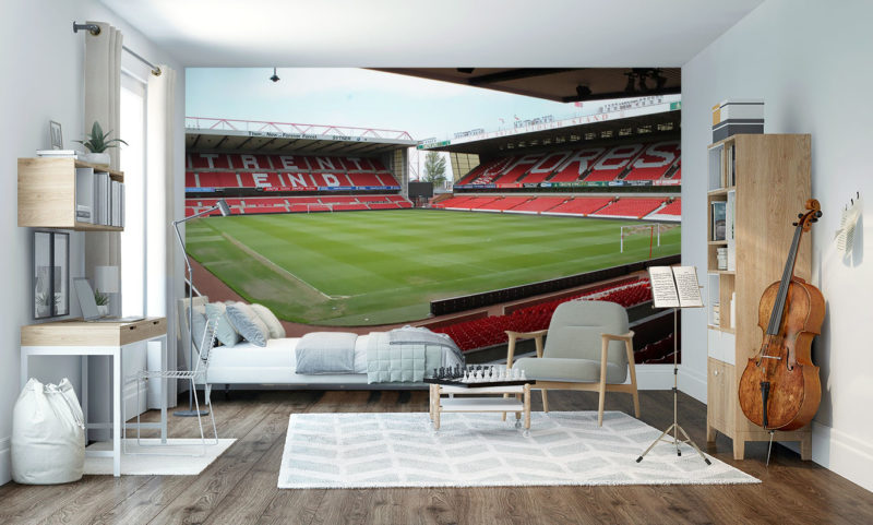 City Ground Nottingham Forest FC Wall Mural