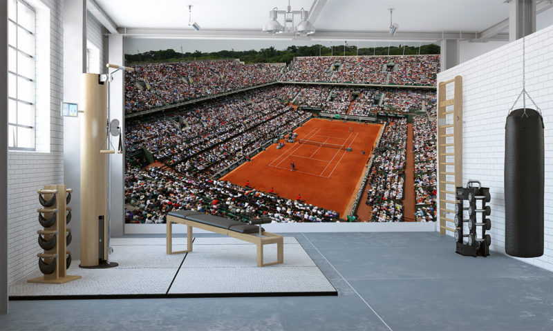 Roland Garros French Open Wall Mural