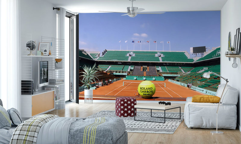 The French Open Wall Mural
