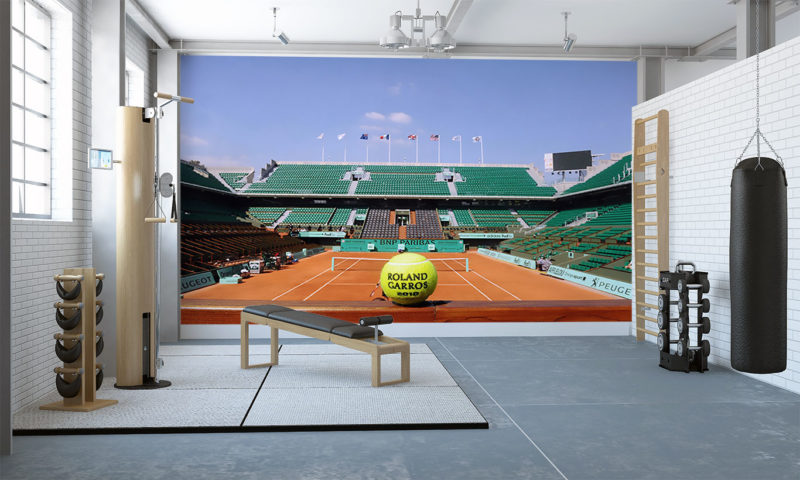 The French Open Wall Mural Art