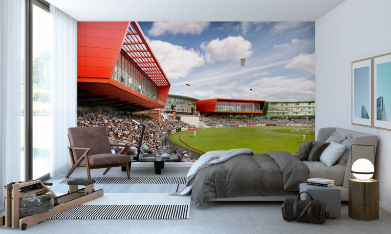 Old Trafford Cricket Ground Wall Mural