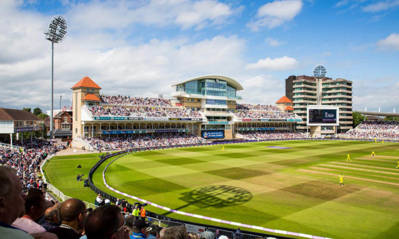 Nottinghamshire County Cricket Ground Wall Mural