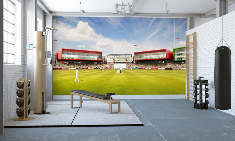 Lancashire County Cricket Ground Wall Mural