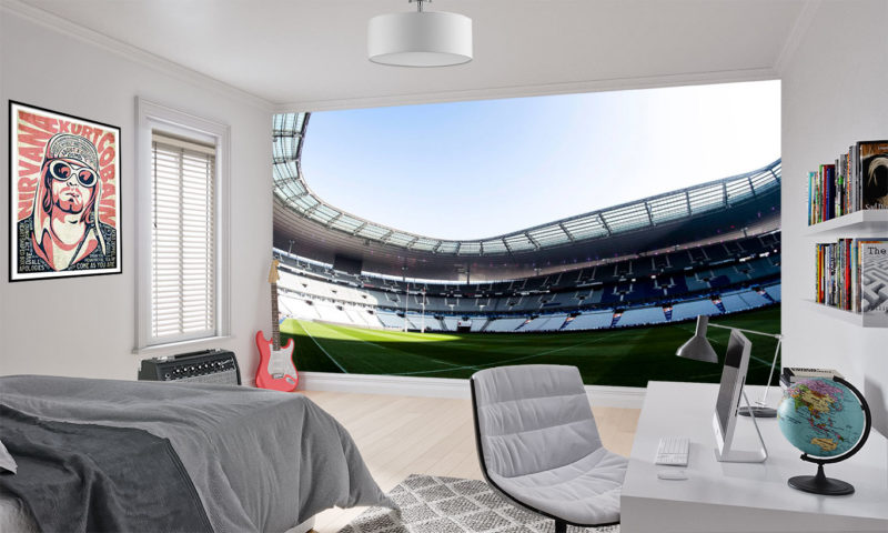 Scotland National Rugby Ground Mural Wallpaper