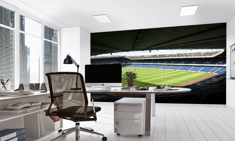 Scotland Rugby Ground HD Wall Mural