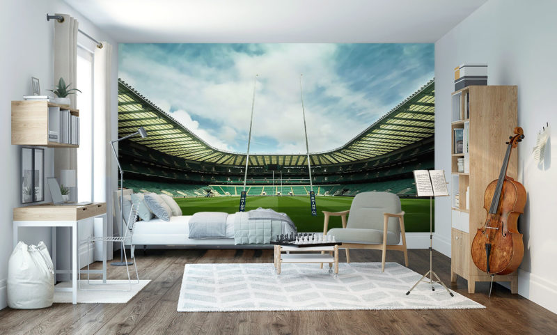 The Home Of England Rugby Wallpaper Mural