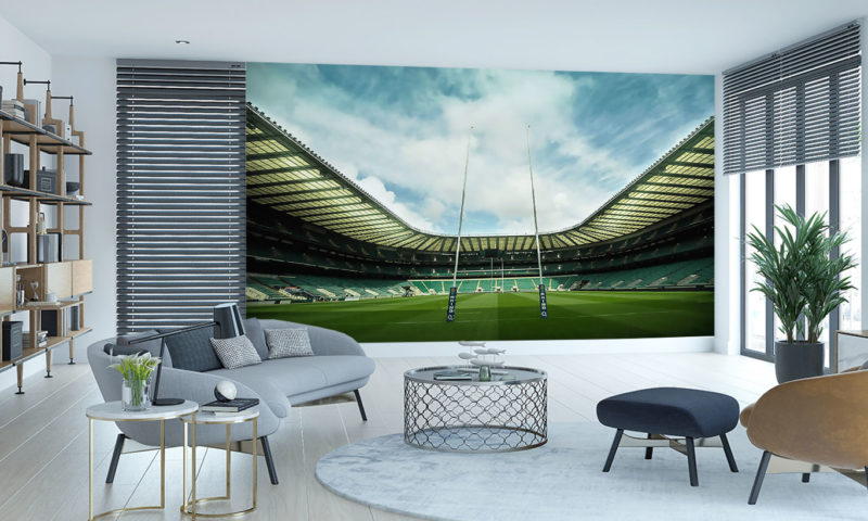The Home Of England Rugby Mural Wallpaper