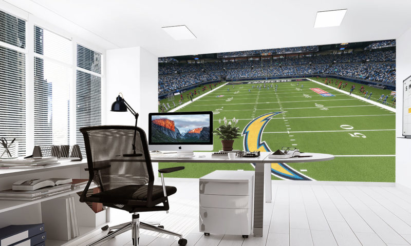 Los Angeles Chargers Stadium Wall Art