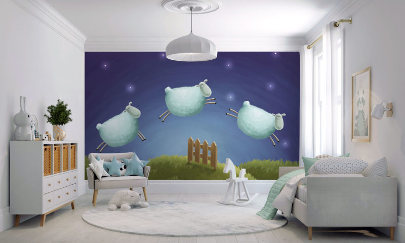Early Learning Feature Mural
