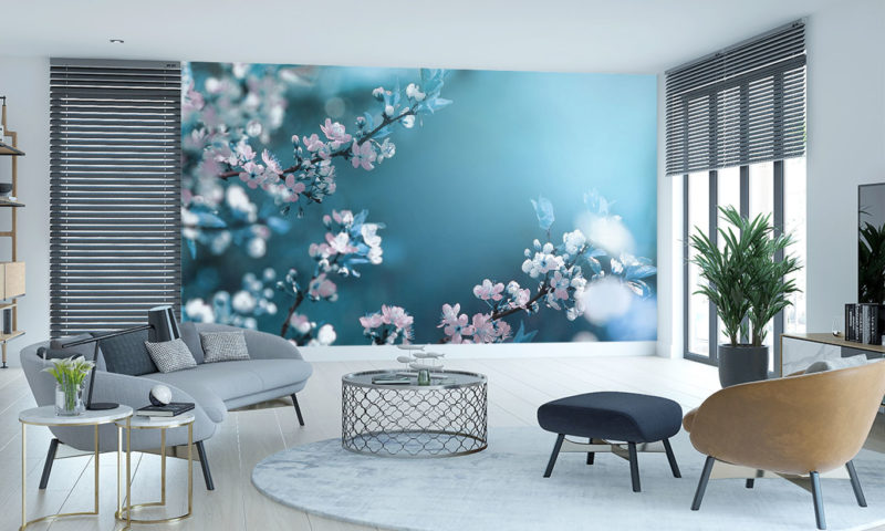 Nature Flower Tree Spring Blossom Wall Mural