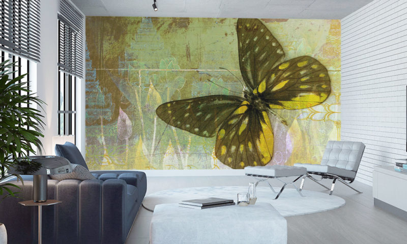 Shop by room Shop by style Shop childrens Shop football Upload your image Majestic Golden Butterfly Mural Art