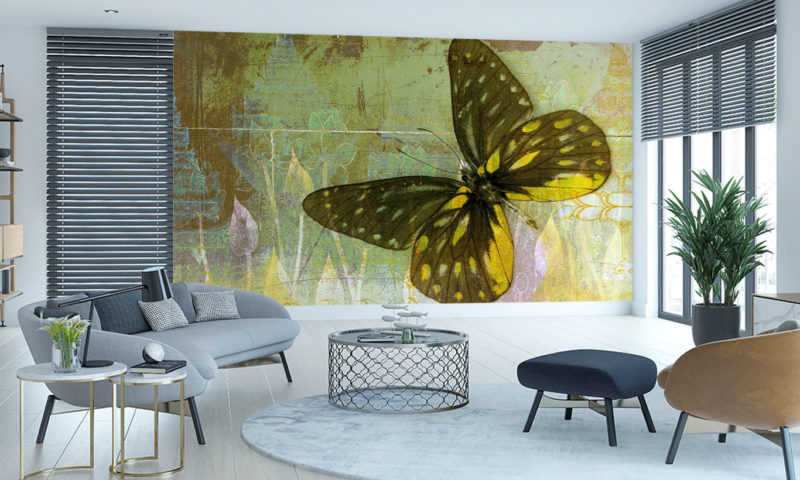 Shop by room Shop by style Shop childrens Shop football Upload your image Majestic Golden Butterfly Wall Art
