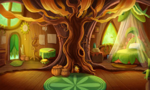 Childrens Fairytale Wall Mural