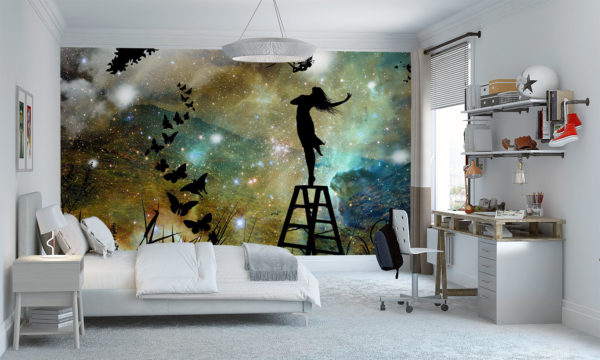 Fairy Princess Dancing With The Stars Wallpaper Mural