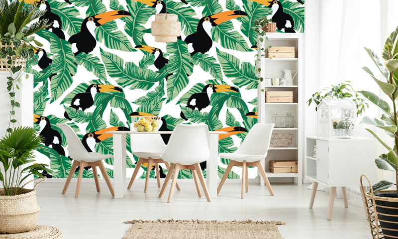 You Toucan Have This Wallpaper Mural
