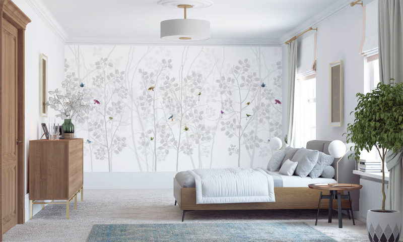 Birds Of The Forest Wall Art